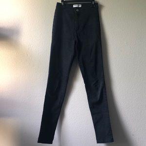 American Apparel Black Easy Jeans